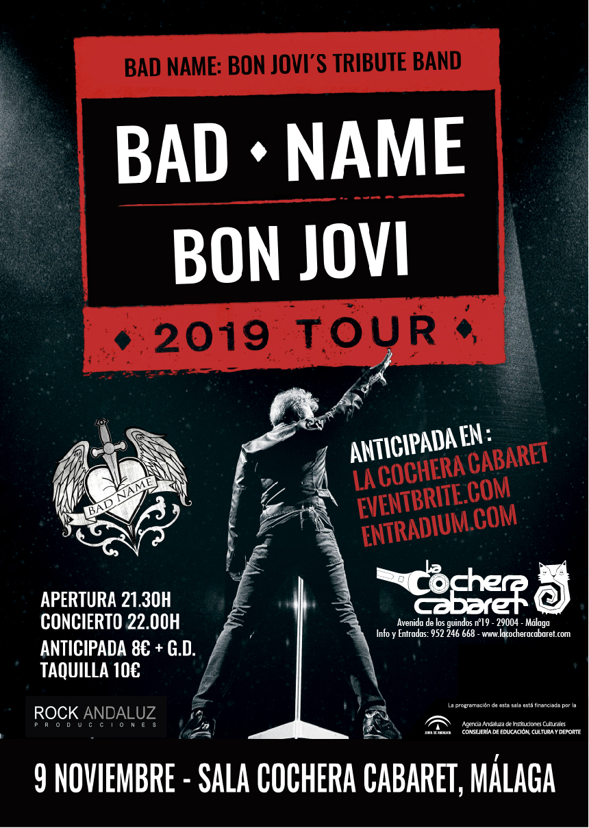 BAD NAME - TRIBUTO BON JOVI