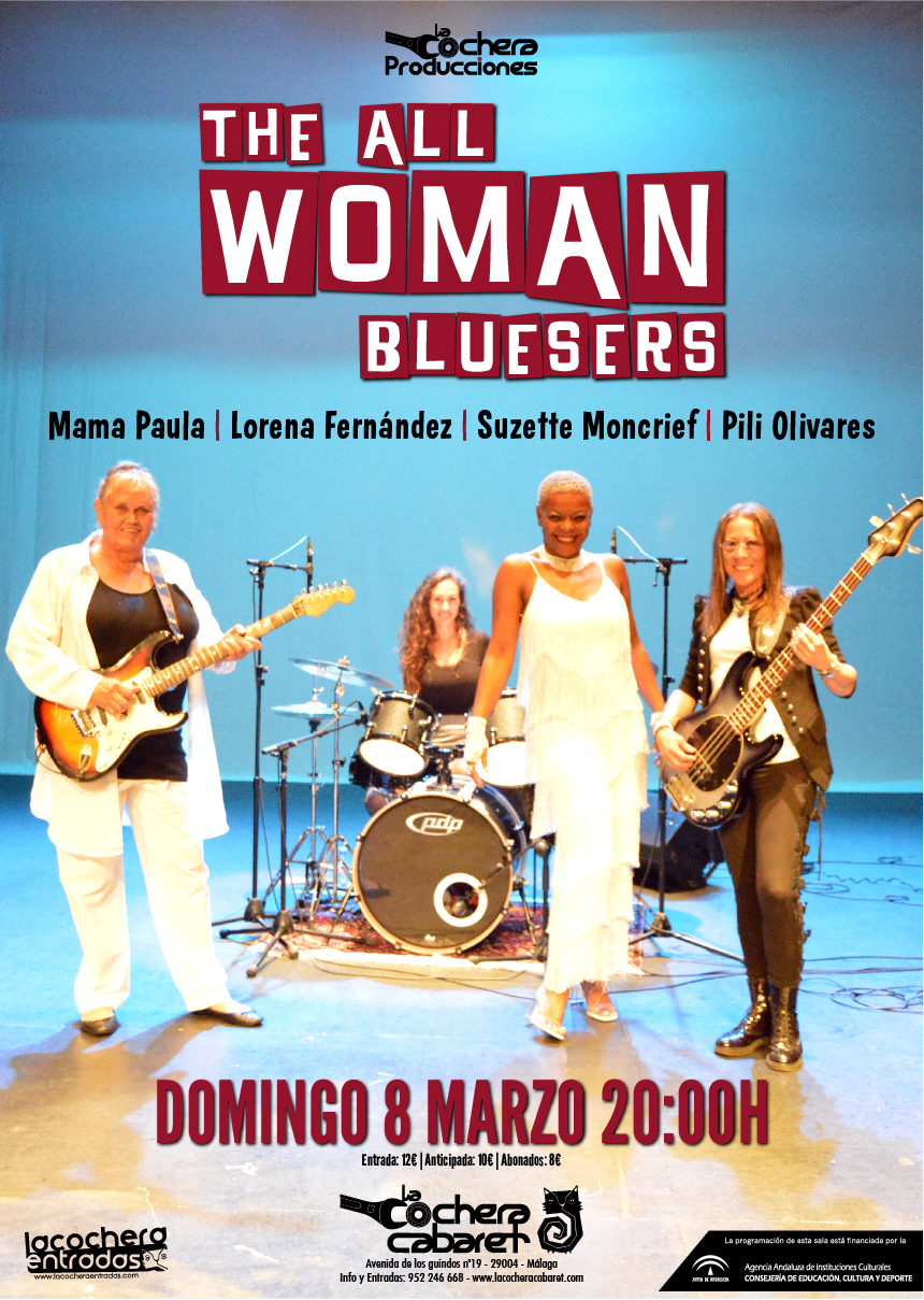 ALL WOMAN BLUESERS