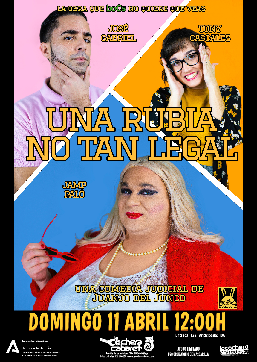 UNA RUBIA NO TAN LEGAL